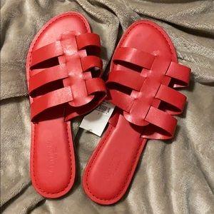 Women's Red Sandal-Size 7
